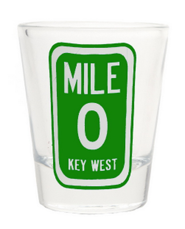 MILE 0 SHOT GLASS * UOM: * Minimum Order:
